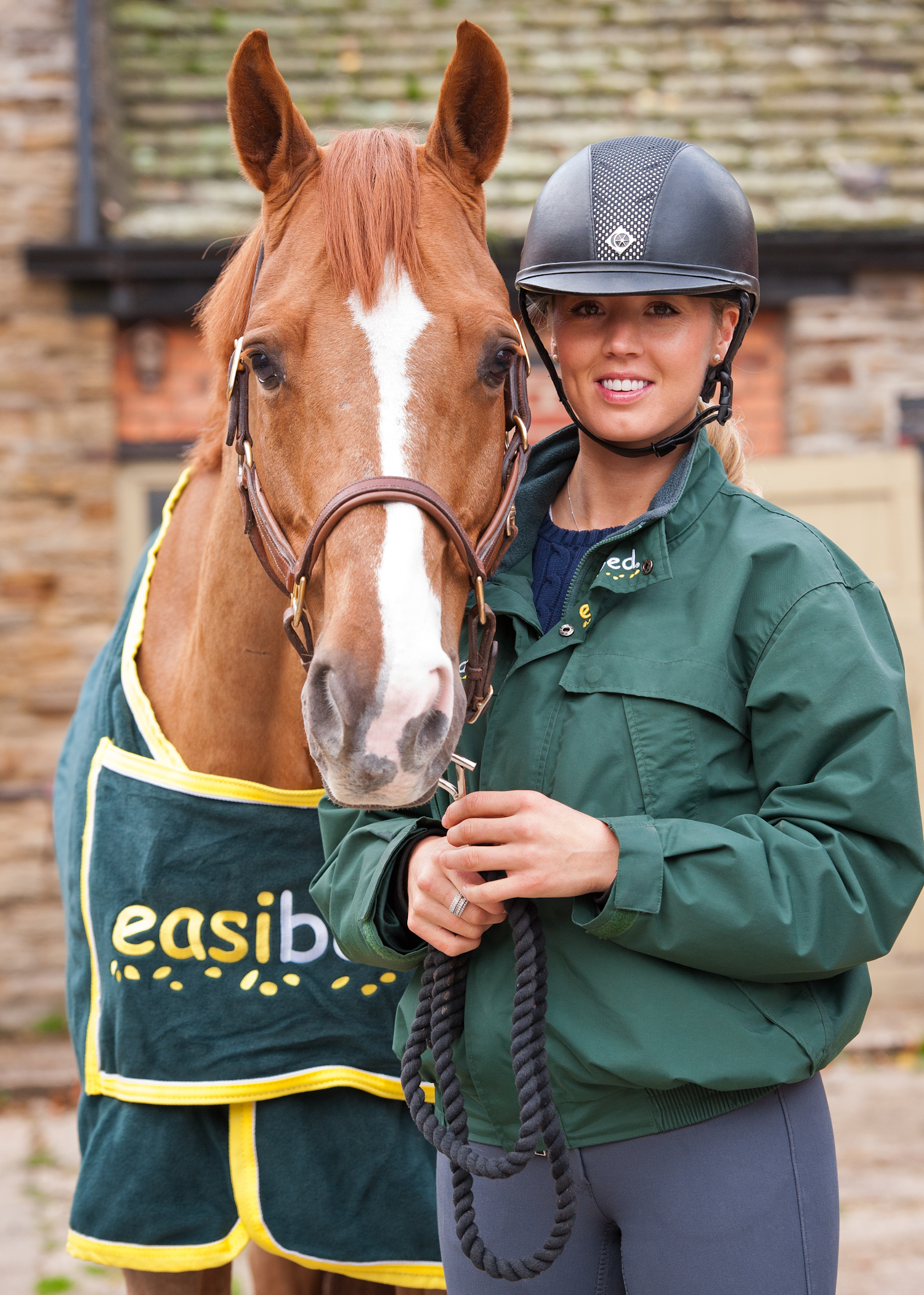Ellen Whitaker sponsored easibed rider