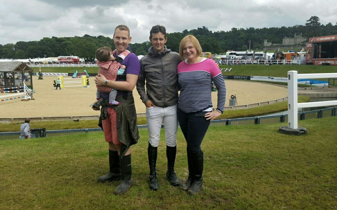 Competition winner meets show jumper Billy Twomey!