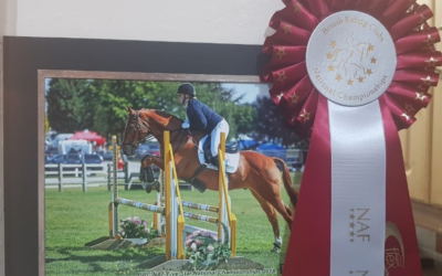 Dani and Bud's success at the British Riding Club in Lincoln