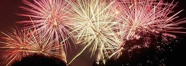 Fireworks – it's that time of year again.